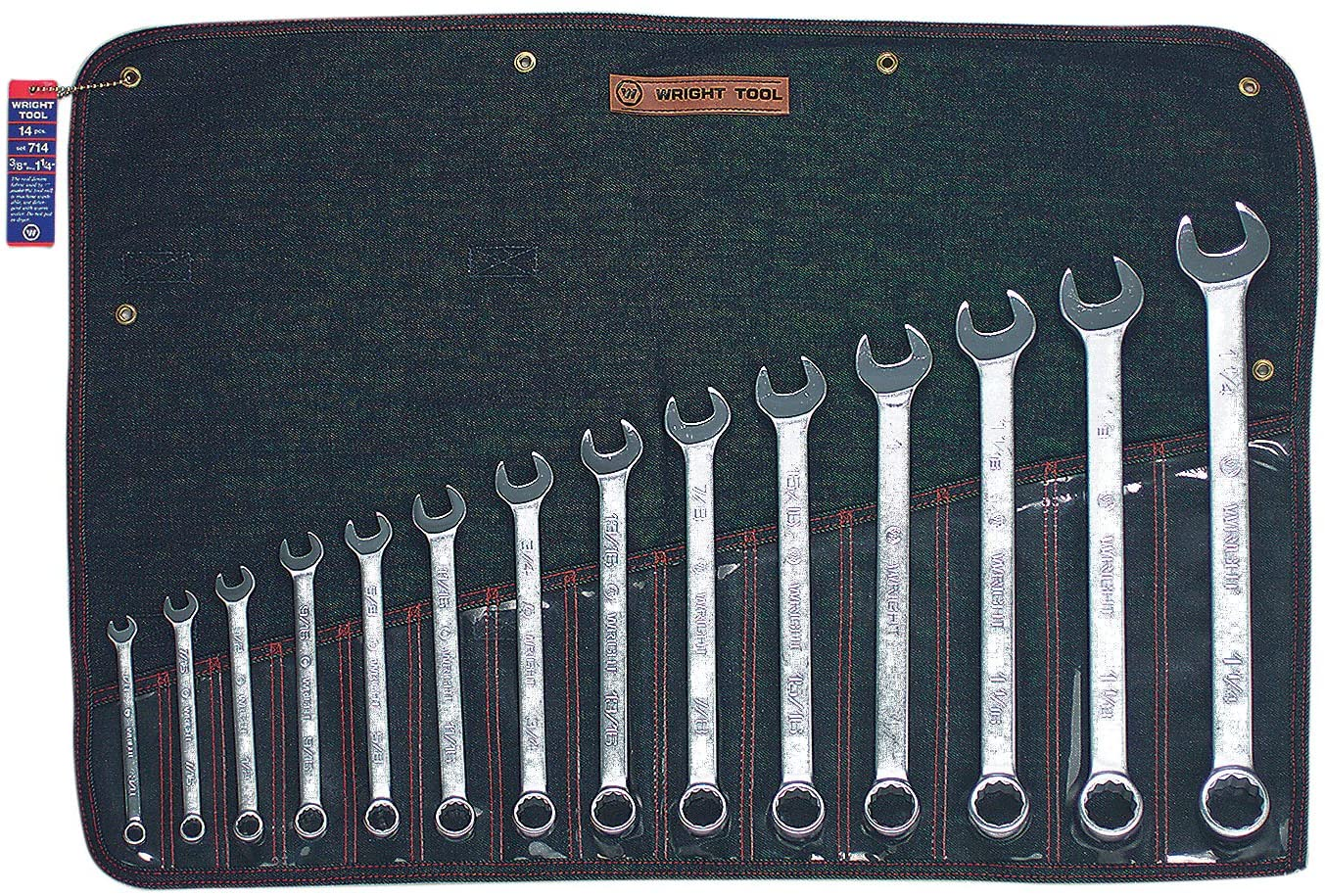 SET 714 14PC COMB WRENCH SET 14 Pc. Combination Wrench Set