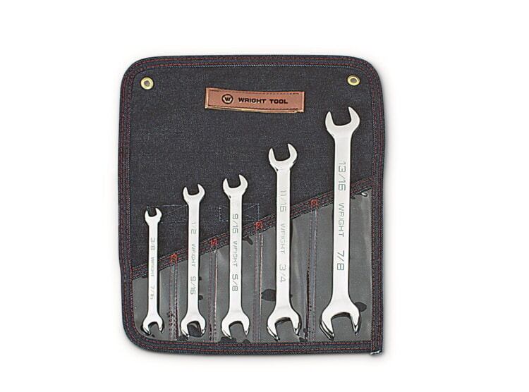 "SET 735 5PC OPEN END WRENCH 5 Pc. Open End Wrenches 3/8"" -"